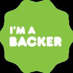 kickstarter badge backer
