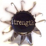 strength brooch large