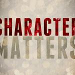 character matters e