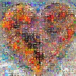 big heart of art  visual mashups