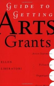 guide-getting-arts-grants-ellen-liberatori-paperback-cover-art