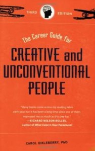 career-guide-for-creative-unconventional-people-carol-eikleberry-paperback-cover-art