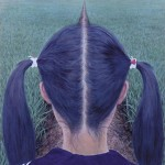 funny optical illusions hair part