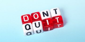 to quit or not to quit  e